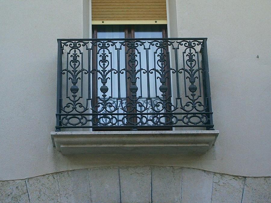 Cerrajer a trabajos en forja carpinter a met lica crefer - Balcones de forja antiguos ...